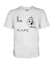 Audrey Drawing Daddy Danny Nsplove Shirt V-Neck T-Shirt thumbnail