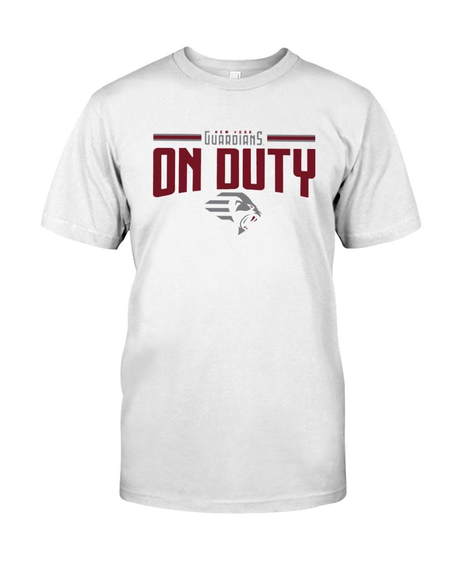New York Guardians On Duty Shirt Classic T-Shirt