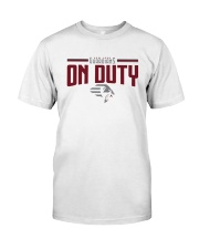 New York Guardians On Duty Shirt Classic T-Shirt front
