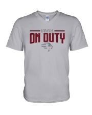 New York Guardians On Duty Shirt V-Neck T-Shirt thumbnail