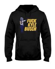 Fuck Kyle Busch Shirt Hooded Sweatshirt thumbnail