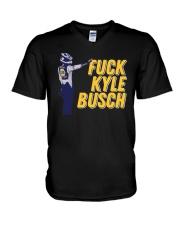 Fuck Kyle Busch Shirt V-Neck T-Shirt thumbnail
