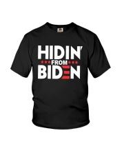 Hidin From Biden Shirt Youth T-Shirt thumbnail