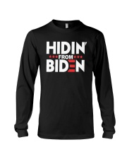 Hidin From Biden Shirt Long Sleeve Tee thumbnail