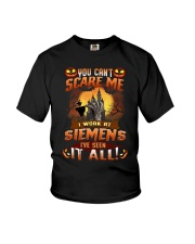 Halloween You Can't Scare Me I Work Siemens Shirt Youth T-Shirt thumbnail
