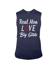 Real Men Love Big Girls Shirt Sleeveless Tee thumbnail