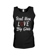 Real Men Love Big Girls Shirt Unisex Tank thumbnail