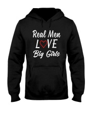 Real Men Love Big Girls Shirt Hooded Sweatshirt thumbnail
