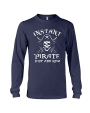 Instant Pirate Just Add Rum Shirt Long Sleeve Tee thumbnail