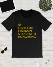 Lakers Fight For Freedom Stand Hong Kong Shirt Classic T-Shirt lifestyle-mens-crewneck-front-17