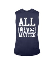 All Lives Matter Shirt Sleeveless Tee thumbnail