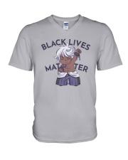 Blm Enkidu Black Lives Matter Shirt V-Neck T-Shirt thumbnail