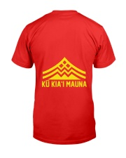 Ku Kiai Mauna Shirt Premium Fit Mens Tee back