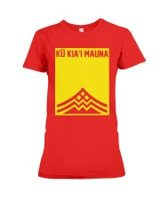 Ku Kiai Mauna Shirt Premium Fit Ladies Tee thumbnail