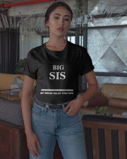 Big Sis We Break Rules Together Shirt Classic T-Shirt apparel-classic-tshirt-lifestyle-05