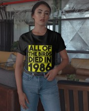 All The Birds Died In 1986 Shirt Classic T-Shirt apparel-classic-tshirt-lifestyle-05