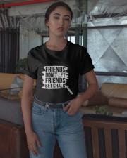 Friends Don't Let Friends Bet Chalk Shirt Classic T-Shirt apparel-classic-tshirt-lifestyle-05