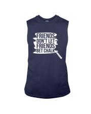 Friends Don't Let Friends Bet Chalk Shirt Sleeveless Tee thumbnail