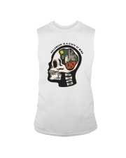 Skull Halloween Is A State Of Mind Shirt Sleeveless Tee tile