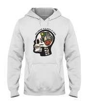 Skull Halloween Is A State Of Mind Shirt Hooded Sweatshirt tile