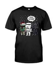 Christmas Darth Vader Boba Its Cold Outside Shirt Classic T-Shirt front