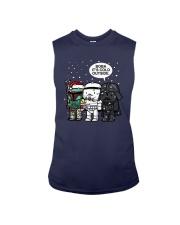 Christmas Darth Vader Boba Its Cold Outside Shirt Sleeveless Tee thumbnail