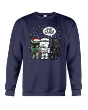 Christmas Darth Vader Boba Its Cold Outside Shirt Crewneck Sweatshirt thumbnail