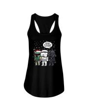 Christmas Darth Vader Boba Its Cold Outside Shirt Ladies Flowy Tank thumbnail