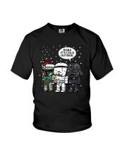 Christmas Darth Vader Boba Its Cold Outside Shirt Youth T-Shirt thumbnail