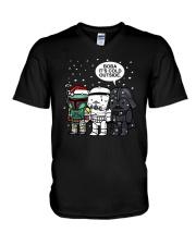 Christmas Darth Vader Boba Its Cold Outside Shirt V-Neck T-Shirt thumbnail