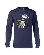 Christmas Darth Vader Boba Its Cold Outside Shirt Long Sleeve Tee thumbnail