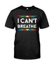 Lgbt I Can't Breathe Shirt Classic T-Shirt front