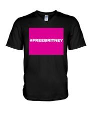 Conservatorship Britney Shirt V-Neck T-Shirt thumbnail