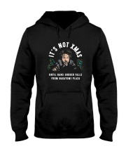 It's Not Xmas Until Hans Gruber Falls Plaza Shirt Hooded Sweatshirt tile