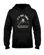 It's Not Xmas Until Hans Gruber Falls Plaza Shirt Hooded Sweatshirt thumbnail