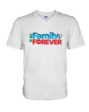 Family Is Forever T Shirt V-Neck T-Shirt thumbnail