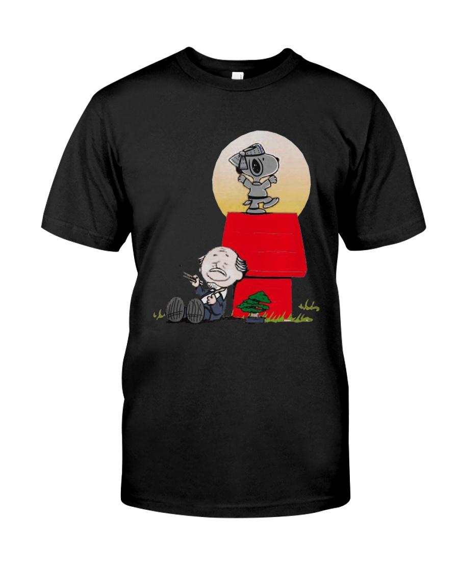 Snoopy Karate Nuts Shirt Classic T-Shirt