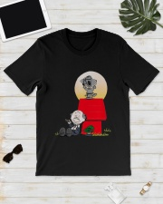 Snoopy Karate Nuts Shirt Classic T-Shirt lifestyle-mens-crewneck-front-17