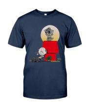 Snoopy Karate Nuts Shirt Classic T-Shirt tile