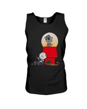 Snoopy Karate Nuts Shirt Unisex Tank thumbnail