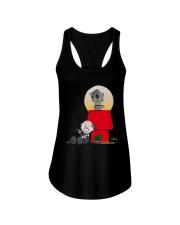 Snoopy Karate Nuts Shirt Ladies Flowy Tank thumbnail