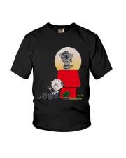 Snoopy Karate Nuts Shirt Youth T-Shirt thumbnail