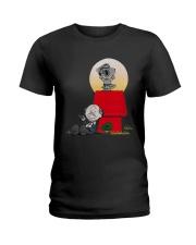 Snoopy Karate Nuts Shirt Ladies T-Shirt thumbnail
