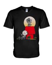 Snoopy Karate Nuts Shirt V-Neck T-Shirt thumbnail