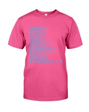 Gorman S Apone A Hicks D Ferro C Vasquez Shirt Classic T-Shirt thumbnail