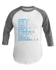 Gorman S Apone A Hicks D Ferro C Vasquez Shirt Baseball Tee thumbnail