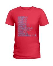 Gorman S Apone A Hicks D Ferro C Vasquez Shirt Ladies T-Shirt thumbnail
