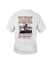 Bus Driver Fighting The Forces Of Stupid Shirt Youth T-Shirt thumbnail