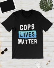 Cops Lives Matter Shirt Classic T-Shirt lifestyle-mens-crewneck-front-17