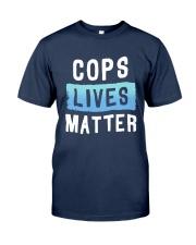 Cops Lives Matter Shirt Classic T-Shirt tile